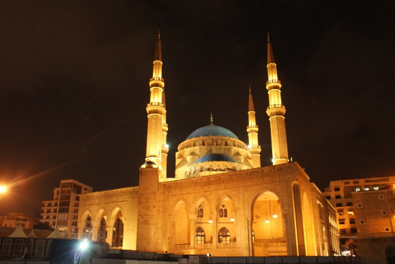 Mohammed Al Amin Mosque (Sunni) in downtown Beirut.