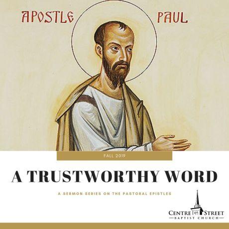a trustworthy word